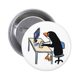 administrador de sistema del tux del pingüino
