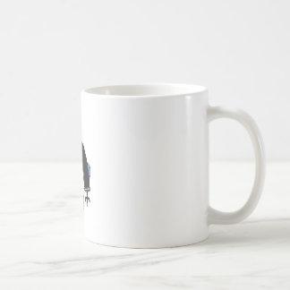 administrador de sistema del tux del pingüino tazas de café