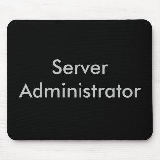 Administrador del servidor alfombrillas de ratón