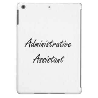 Administrative Assistant Artistic Job Design iPad Air Covers