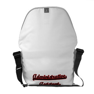 Administrative Assistant Classic Job Design Courier Bags