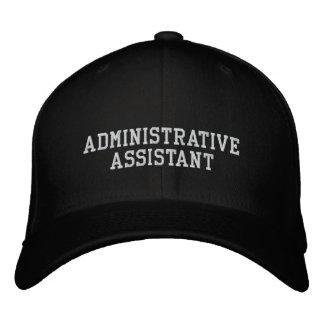 Administrative Assistant Baseball Cap
