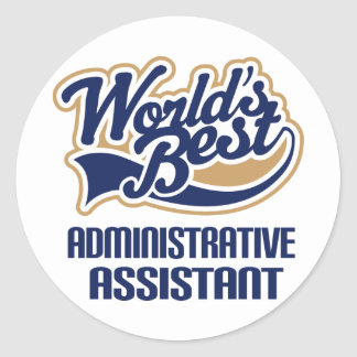 Administrative Assistant Gift Stickers