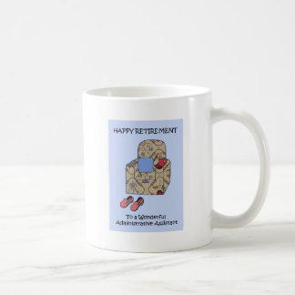 Administrative Assistant Retirement Coffee Mug