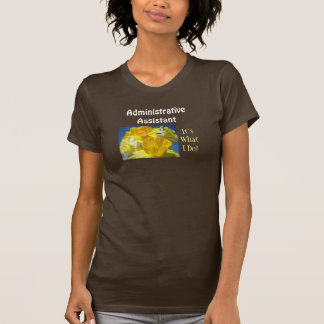 Administrative Assistant Tees It's What I Do Admin