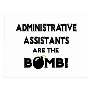 Administrative Assistants Are The Bomb! Postcard