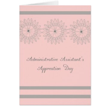 Professional Business Administrative Assistant's Day Card