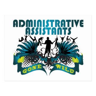 Administrative Assistants Gone Wild Postcard