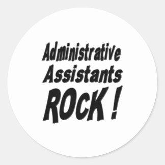 Administrative Assistants Rock! Sticker