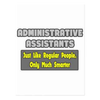 Administrative Assistants...Smarter Post Cards