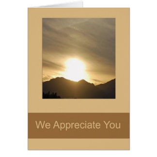 Administrative Day Card