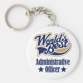 Administrative Officer Gift Keychain