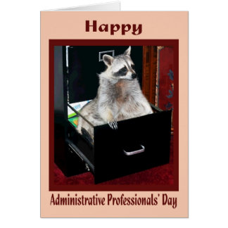 Administrative Pro day Card