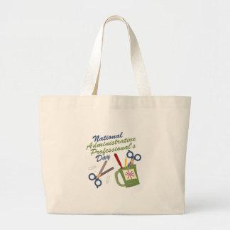 Administrative Professional Jumbo Tote Bag