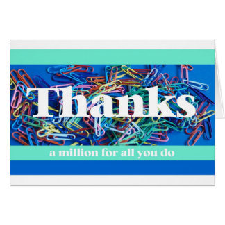 Administrative Professional Day Card -- Thanks