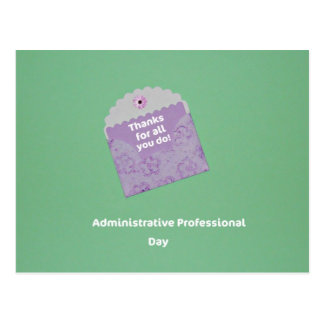 Administrative Professional Day Postcard