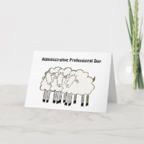Administrative Professional Day - Thanks Thank You Card