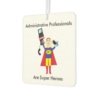 Administrative Professional Super Hero (Blonde) Air Freshener
