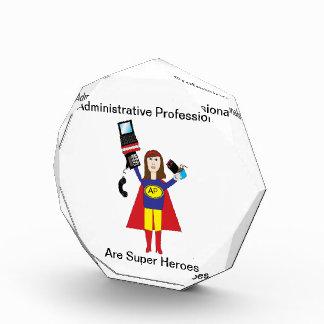 Administrative Professional Super Hero (Brunette) Award