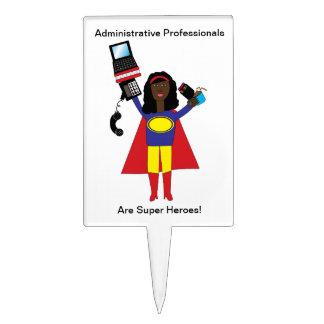 Administrative Professional Super Hero Cake Topper