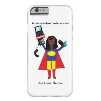 Administrative Professional SuperHero African Amer