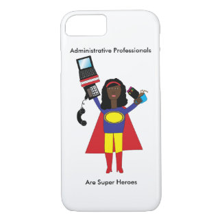 Administrative Professional SuperHero African Amer iPhone 8/7 Case