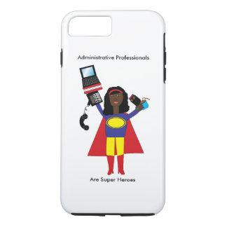 Administrative Professional SuperHero African Amer iPhone 8 Plus/7 Plus Case