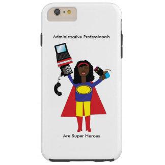 Administrative Professional SuperHero African Amer Tough iPhone 6 Plus Case