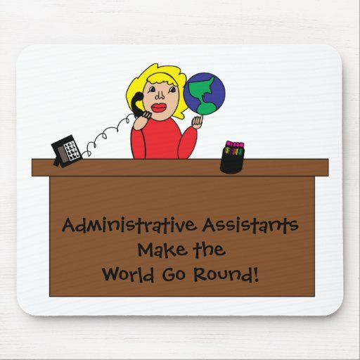 Administrative Professional World Mousepad