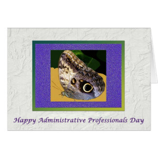 Administrative Professionals Day Butterfly Card
