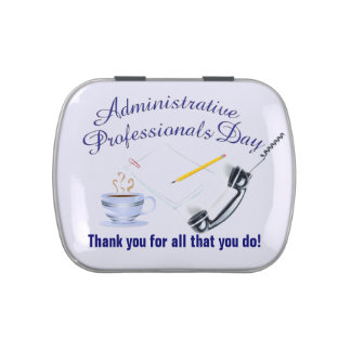 Administrative Professional's Day Candy Tin