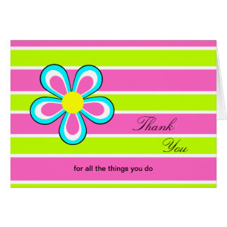 Administrative Professionals Day Card -- Floral
