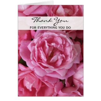 Administrative Professionals Day Card Roses