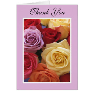 Administrative Professionals Day Card -- Roses Note Card