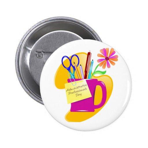 Administrative Professionals Day Design Button