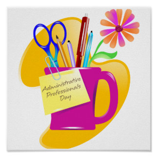 Administrative Professionals Day Design Poster
