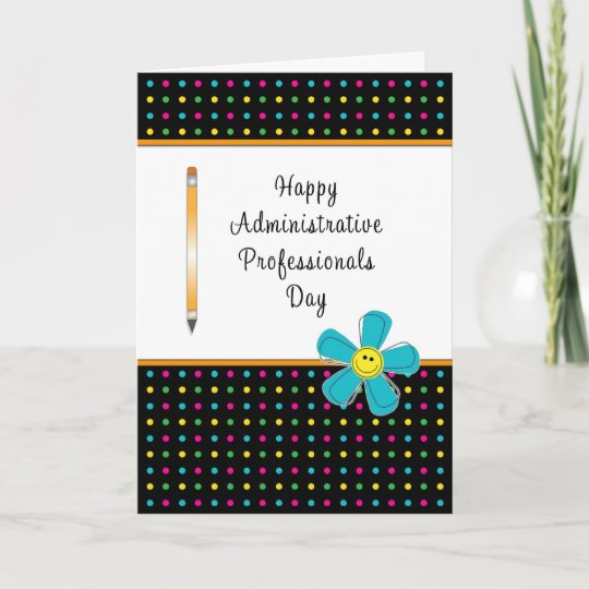 Administrative professionals day greeting card zazzle administrative professionals day greeting card m4hsunfo