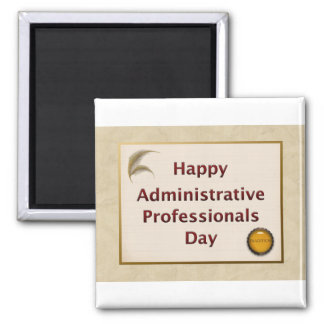 Administrative Professionals Day Tradition Magnet
