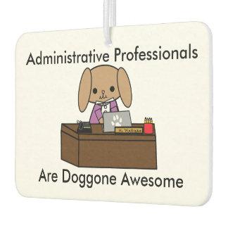 Administrative Professionals Doggone Awesome Dog Car Air Freshener