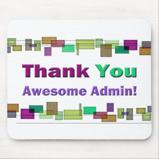 Administrative Professionals Gifts Awesome Admin Mouse Pad