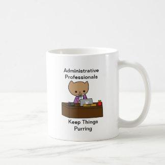Administrative Professionals Keep Things Purring Coffee Mug