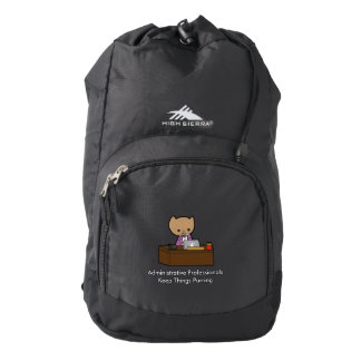 Administrative Professionals Keep Things Purring High Sierra Backpack