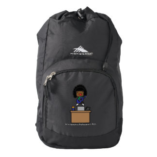 Administrative Professionals Rock African American Backpack