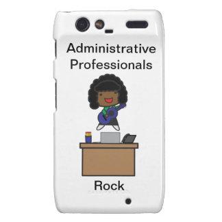 Administrative Professionals Rock African American Motorola Droid RAZR Covers