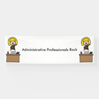 Administrative Professionals Rock (Blonde) Banner