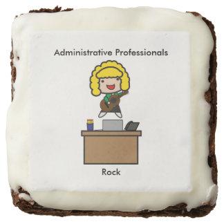 Administrative Professionals Rock (Blonde) Brownie