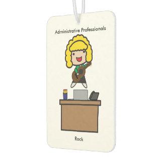 Administrative Professionals Rock (Blonde) Car Air Freshener
