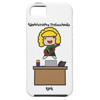Administrative Professionals Rock (Blonde) iPhone SE/5/5s Case