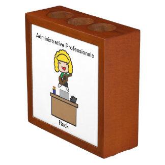 Administrative Professionals Rock Blonde Pencil/Pen Holder