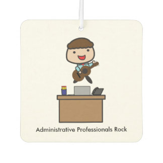 Administrative Professionals Rock (Male) Air Freshener